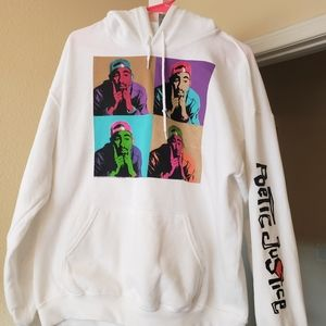 Womens Tupac pullover sweater